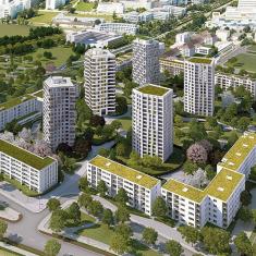 Allemagne Munich gratte-ciel - Système de ventilation mécanique - Référence