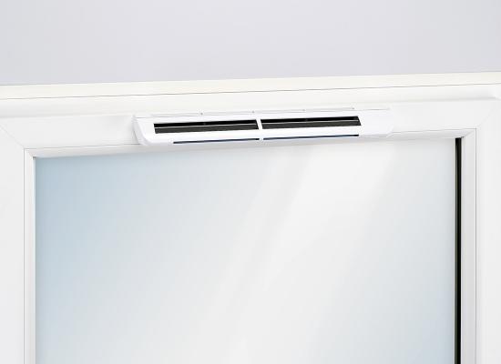 EMM2 entrée d'air hygroréglable pour fenêtres - Dispositif d'ouverture et de fermeture manuel