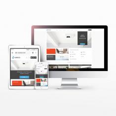 Nouveau site internet Aereco - Actualité en page d'acceuil